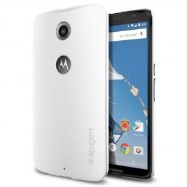 Spigen Thin Fit Nexus 6 Shimmery White