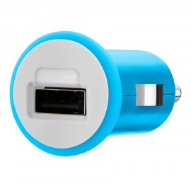 Micro 1A Car Charger USB Blue