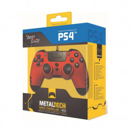 Steelplay MetalTech Wired Controller Ruby Red