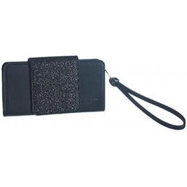 GLAMme XL Pochette Glitter Black