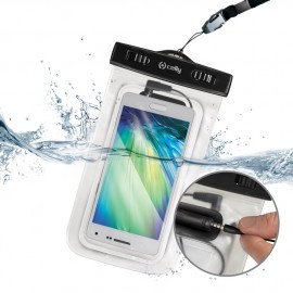 Celly Universal Waterproof Case Snorkel Black
