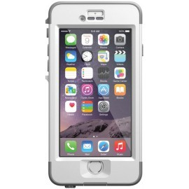Lifeproof Nüüd Waterproof Case Avalanche iPhone 6 Plus wit/grijs