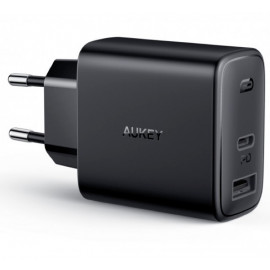 Aukey 2 Port Power Delivery Charger 32W (USB A + USB C)