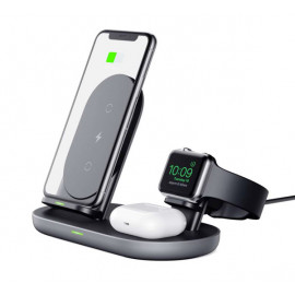 Aukey 3-in-1 Wireless Charging Station