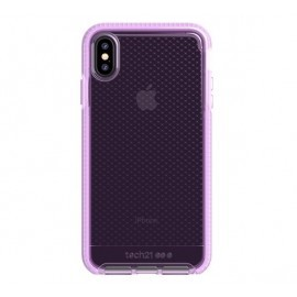 Tech21 Evo Check iPhone XS Max transparant / roze