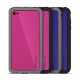 Customize Case iPhone 4 Roze / Paars