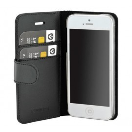 Valenta Booklet Classic Luxe iPhone 5 / 5S / SE Black