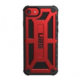 UAG Hardcase Monarch iPhone 6(S) / 7 / 8 roodzwart