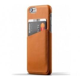 Mujjo wallet leren case iPhone 6(S) bruin