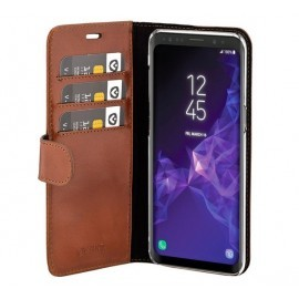 Valenta Booklet Classic Luxe Galaxy S9 bruin