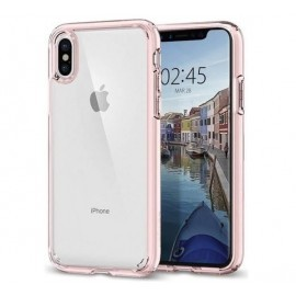Spigen Ultra Hybrid Case iPhone X / XS roze