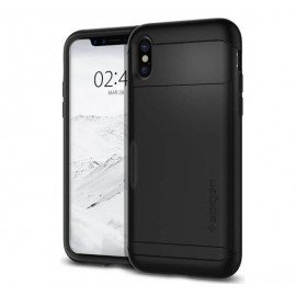 Spigen Slim Armor CS Case iPhone X zwart