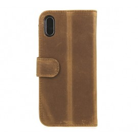 Valenta Booklet Classic Luxe Vintage Brown iPhone X