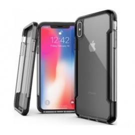 X-Doria Defense Clear cover iPhone XS Max Zwart