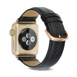 dbramante Madrid Apple Watch Strap 42mm Night Black