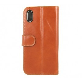 Valenta Booklet Classic Luxe Brown iPhone X