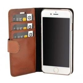 Valenta Booklet Classic Luxe Brown iPhone 8 / 7 / 6 / 6s