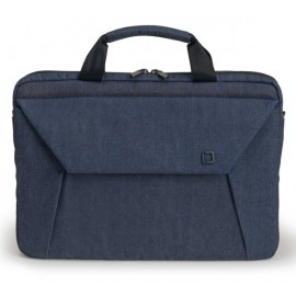 Dicota Slim Case Plus EDGE 14 tot 15.6 inch blauw