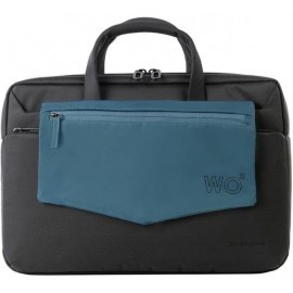 Tucano Work Out III Brief MacBook 15 inch zwart