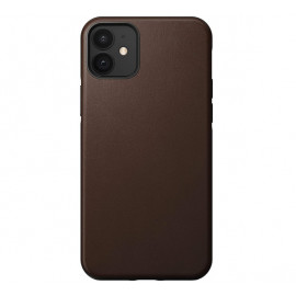 Nomad Rugged Leather Case iPhone 12 Mini bruin