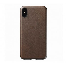 Nomad Rugged Case Leather iPhone XS Max bruin