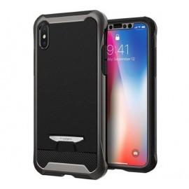 Spigen Reventon Case iPhone X / XS Gunmetal zwart