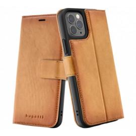 Bugatti Zurigo Wallet case iPhone 12 Pro Max bruin
