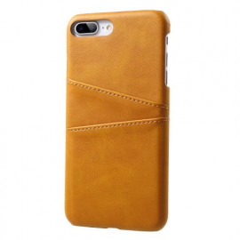 Casecentive Leren Wallet back case iPhone 7 / 8 plus tan