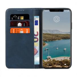Casecentive Leren Wallet case iPhone 11 Pro Max blauw