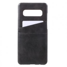 Casecentive Leren Wallet back case Galaxy S10 zwart