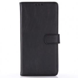 Casecentive Leren Wallet case Galaxy S10 zwart