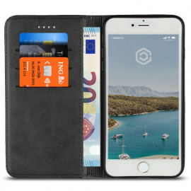 Casecentive Leren Wallet case iPhone 7 / 8 Plus zwart