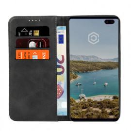 Casecentive Leren Wallet case Samsung Galaxy S10 Plus zwart