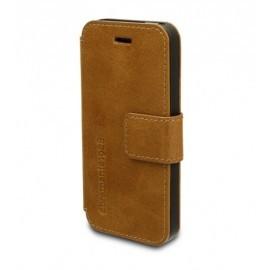 DBramante1928 leren wallet folio case iPhone 5(S) golden tan