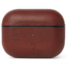 Decoded Airpod Pro Leather Case bruin