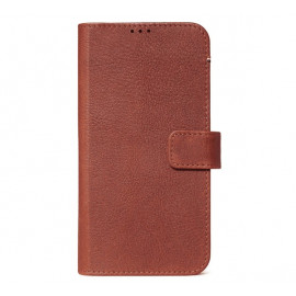 Decoded Leren Wallet Case iPhone 11 bruin