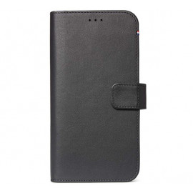 Decoded Leren Wallet Case iPhone 11 zwart