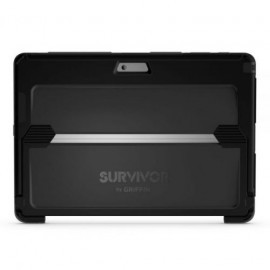 Griffin Survivor Slim Case Microsoft Surface Pro 2017 / 4 grijs/zwart