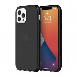 Griffin Survivor Clear case iPhone 12 / iPhone 12 Pro Zwart