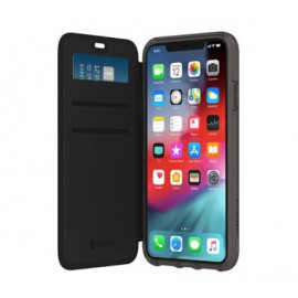 Griffin Survivor Clear Wallet iPhone 11 clear / zwart