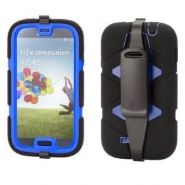 Griffin zwart/blauw survivor Samsung Galaxy S4