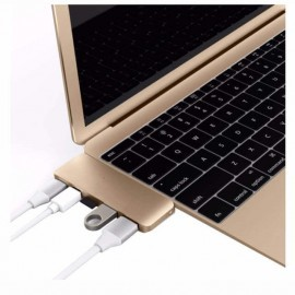 HyperDrive USB-C 5 in 1 Adapter Kit USB 3.1 goud