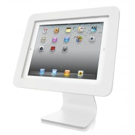 MacLocks iPad Enclosure Kiosk / iPad standaard aluminium wit