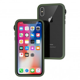 Catalyst Impact Protection case iPhone X legergroen