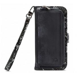 Mobilize 2in1 Gelly Wallet Zipper Case iPhone 11 zwart / snake