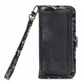 Mobilize 2in1 Gelly Wallet Zipper Case iPhone 12 / iPhone 12 Pro zwart / snake