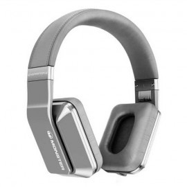 Monster Inspiration over-ear koptelefoon zilver