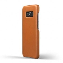 Mujjo Leather Case Galaxy S8 bruin