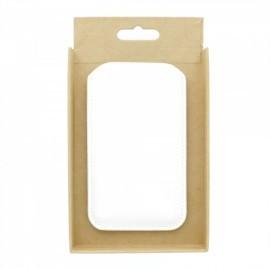 Mujjo Sleeve Lederen Hoes iPhone 5(S)/SE  wit
