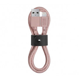 Native Union Kevlar Belt Lightning kabel 1.2m roze
